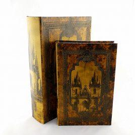 Шкатулка книга 2-х – Замок