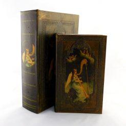 Набор шкатулок – Ангел с арфой Гранд Презент 22-KSH-XZ-L0479