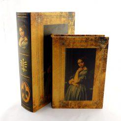 Шкатулка книга 2х – Девушка