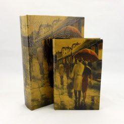 Шкатулка-книга – Пара Гранд Презент 27-KSH-PU155