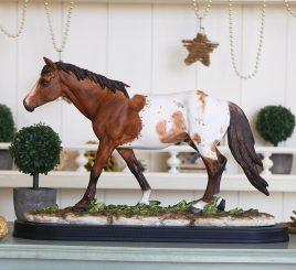 Статуэтка Рыжий конь в яблочко 35*23*11,5 SM00503-2