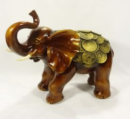 Слон монеты 30 см СП102 цв