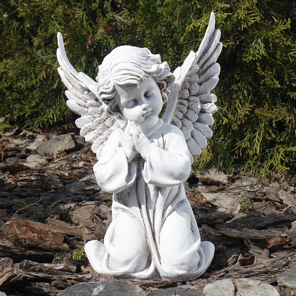 Ангел молящийся 30 см СП501-3 беж