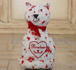 Стоппер для двери – красный кот Гранд Презент 203369