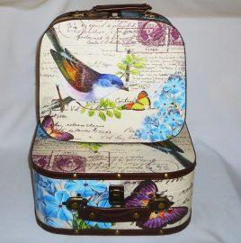 Чемодан набор из 2-х – Птица SH31193-079