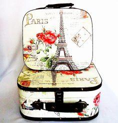 Чемодан набор из 2-х – Париж