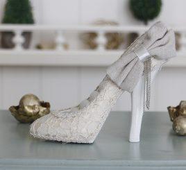 Подставка под кольца – туфелька