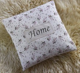 Подушка цветочная –  Home