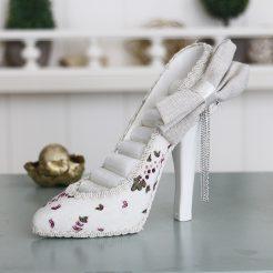 Подставка туфелька цветочная