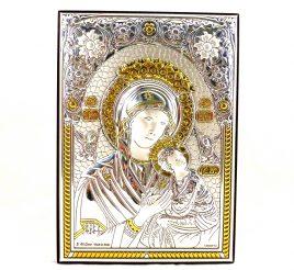 Икона Неустанной помощи на деревянной основе 1045