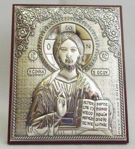 Икона Иисус Вседержитель на деревянной основе 1049