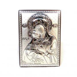 Икона Владимирская на деревянной основе 1013