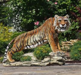 Тигр напольный большой 50* 68 см СП307 цв
