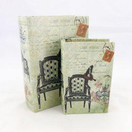 Набор из 2-х шкатулок – Кресло 22-KSH-XZ-PU-003