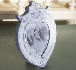 Фоторамка-Сердце с декором