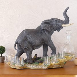 Штоф слон 44 см
