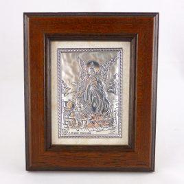 Изображение Ангел Хранитель в деревянной рамке