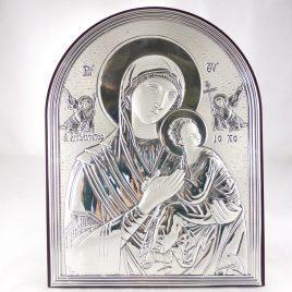 Икона Страстная  Божьей Матери на деревянной основе 240 Большая