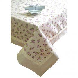 """Скатерть """"lilac Rose"""" с кантом  180х140 см"""