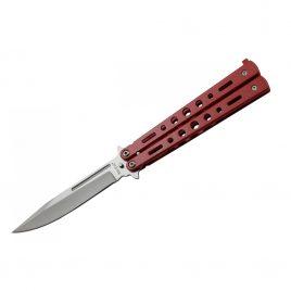 Нож балисонг 220 мм 15084 W (red)