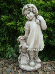 Садовая фигура Девушка из провинции 26×20.5×60.5cm SS0876
