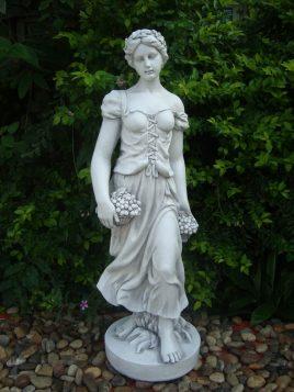 Садовая  статуя Богиня лета 28x26x84cm SS12038