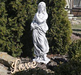 Садовая  скульптура Богиня зимы 25x24x83cm Гранд Презент SS12040