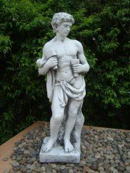 Садовая  скульптура Бог строительства 30X22X84cm SS12043