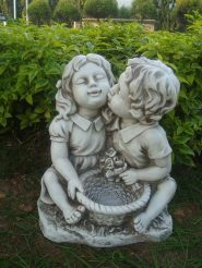 Садовая  фигура Поцелуй 38x30x45cm SS12142