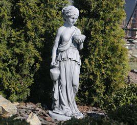 Садовая  скульптура Дама с кувшином 29.5x27x85cm