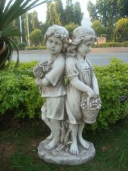 Садовая скульптура Романтика 45X30X90 см