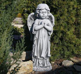 Садовая  фигура Ангел 35x25x72cm SS12091