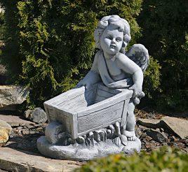 Садовая  фигура Ангел 43x25x52cm SS12097