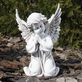 Ангел молящийся светящийся 30 см