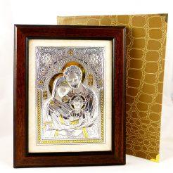 Образ Святое семейство в деревянной рамке