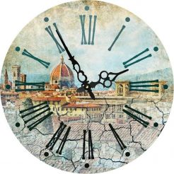 Часы круглые настенные ФРАНЦИЯ 34 см