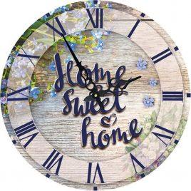 Часы круглые настенные SWEET HOME 60 см