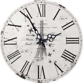 Часы круглые настенные ЭЙФЕЛЕВА БАШНЯ 60 см