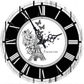 Часы круглые настенные ПОЦЕЛУЙ 60 см