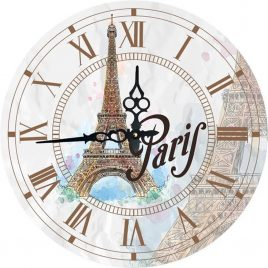 Часы круглые настенные ПАРИЖ 60 см