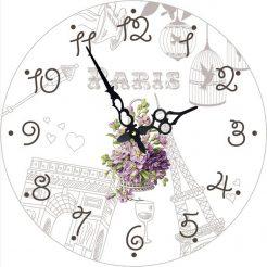 Часы круглые настенные НЕЖНОСТЬ 60 см