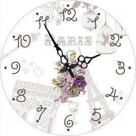 Часы круглые настенные НЕЖНОСТЬ 60 см Гранд Презент d6011