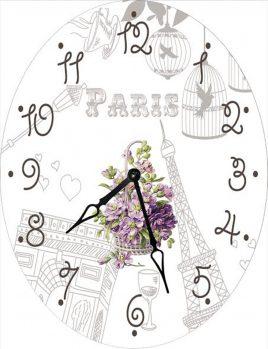 Часы овальные настенные НЕЖНОСТЬ 46*60 d466011