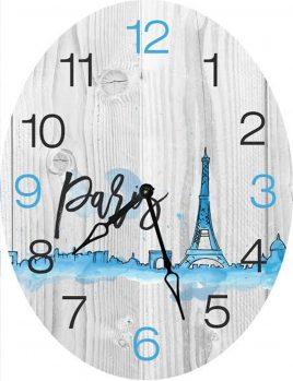 Часы овальные настенные ДАЛЬ 46*60