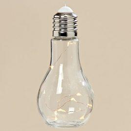 Светодиодная лампа Колба прозрачное стекло h19d9см 3436600