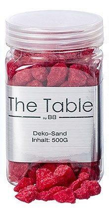 Декоративные камни красные h10см 500г
