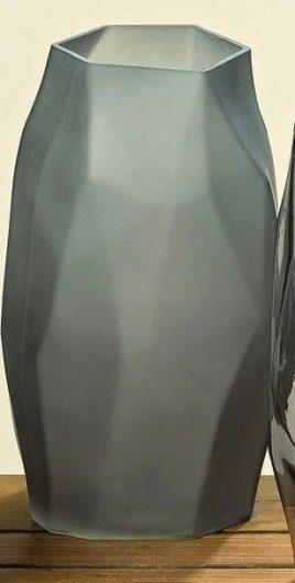 Ваза Ромб цветное стекло h18см Гранд Презент 8398900
