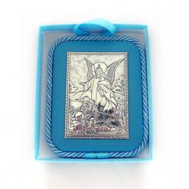 Икона Ангел хранитель на подушечке