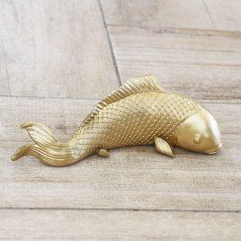 Настенный декор Золотая рыбка 19см