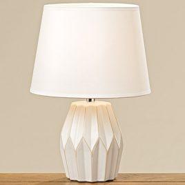 Лампа Стокгольм белая керамика h33см 1003614